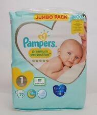 """Optionen Active Baby Versch 40-240 Windeln//Packung Pampers /""""7/"""" Windeln 15+ kg"""
