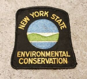 New York State Environmental Conservation Police Shoulder Patch