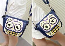Owl Dark Blue Bag