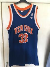 NEW York Knicks Basket Canotta XXL Da Uomo Ewing 33