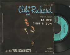 CLIFF RICHARD & the SHADOWS,sings in french.La mer + 3.FRENCH EP
