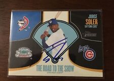 JORGE SOLER 2013 TOPPS AUTOGRAPHED SIGNED AUTO BASEBALL CARD RTTS-JS CUBS ROAD