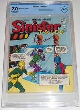 CBCS 7.0 SINISTER TALES #84~TALES OF SUSPENSE #39~MARVEL COMICS UK~1ST IRON MAN