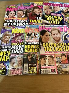 Woman's Day  New Idea 8 Magazines From Various Weeks Of September & October 2021