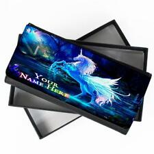 Personalised Ladies Purse UNICORN FANTASY Long Coin Wallet Womens Gift ST709