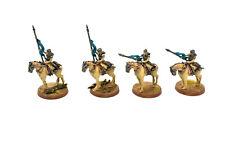 DEATH KORPS OF KRIEG 4 Death Riders Squad #1 WELL PAINTED 40K