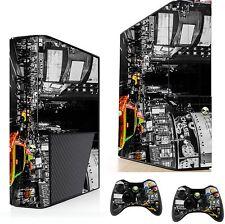 NEW York Adesivo / Pelle XBOX 360E console & controller remoto xsk21