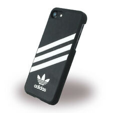 adidas Originals MOULDED Case for Apple iPhone 7 - Black White Stripes