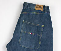 Tommy Hilfiger Hommes Ballpeen Jeans Jambe Droite Taille W33 L32 AKZ422