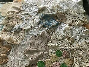 Vintage Lot of Crochet Doilies