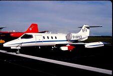 Original colour slide Learjet D-CGFD - target towing aircraft