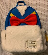 Loungefly Disney DONALD DUCK MINI BACKPACK  WITH TAGS