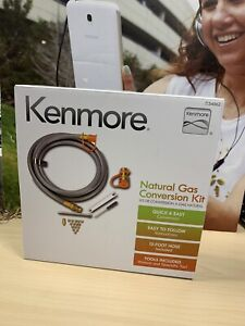 Kenmore Natural Gas Conversion Kit 71-34562 12ft Hose 7134562 34562 - NEW