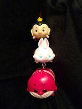 Disney Tsum Tsum Alice in Wonderland Queen Rabbit Cheshire Christmas Ornament