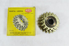 Vintage NOS CAIMI EVEREST SPECIAL CORSE ORO 5s 14-21 FREEWHEEL ,Mint!