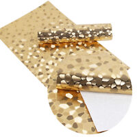 20*34cm Foil PU Synthetic Leather Fabric, Faux Leather Upholstery Material