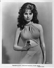 Madeline Smith James Bond girl holding gun Live and Let Die Original 8x10 Photo