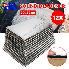 50 x 30CM Sound Deadener Noise Proofing Car Heat Shield Insulation Deadening Mat