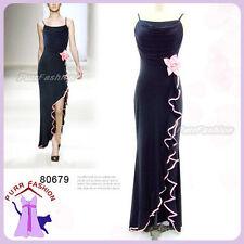 Women's Polyester Full Length Stretch, Bodycon Formal Dresses
