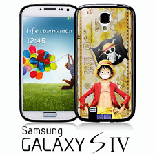 One Piece Rufy Luffy Mujiwara Pirates COVER RIGIDA CUSTODIA Samsung S4
