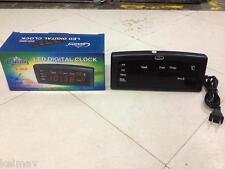 Digital LED Clock 868 Alarm