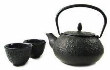 Japanese Cast Iron Teapot Tea Set Pine Needle #ts5-08 S-2110