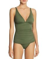 Tommy Bahama Women's 189428 Pearl V-Neck One-Piece Swimsuit Size 10