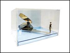 Ernest TROVA Falling Man Shadow Figure Signed Bronze Sculpture Modern Artwork