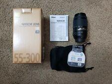 Nikon NIKKOR LENS AF-S DX NIKKOR 55-300mm f/4.5-5.6G ED VR