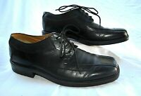 Nunn Bush Nxxt  Black Leather Lace up Dress shoes Men's  shoes Sz 10 M #83244 01