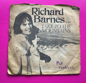 """A29, Take To The Mountains, Richard Barnes, 7"""" Single, Very Good Plus Condition"""
