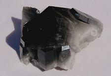Black Smoky Quartz Natural Mineral Specimen - 823 grams - Collectors Crystal