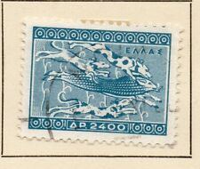 Greece 1954 Early Issue Fine Used 2400dr. NW-06924