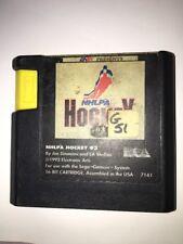 NHLPA Hockey 93 (Sega Genesis, 1992) Video Game Cartridge