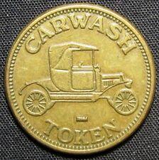 Vintage Car Wash Token No Cash Value