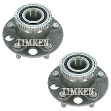 Pair Set 2 Rear Timken Wheel Bearing & Hub Kits for Acura RL Honda Odyssey FWD