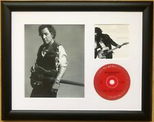 Bruce Springsteen /Limited Edition/ Framed /Photo & CD Presentation /Born to Run