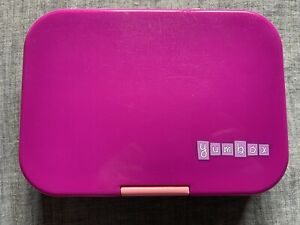 Yumbox Original Leakproof Bento Lunchbox Container For Kids Purple Space Themed