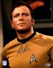 "WILLIAM SHATNER Signed Autographed 11x14 photo ""STAR TREK"" Kirk OPX BAS #S16331"