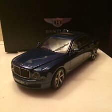Kyosho 2014 Bentley Mulsanne Speed Marlin Color Dealer Edition 1/18 Scale. Rare!