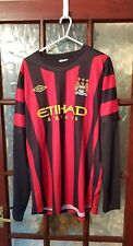 Manchester City 2011/12 L/S away shirt size L Bnwot