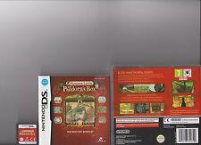 El profesor Layton y la caja de Pandora Nintendo Ds