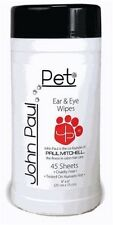 John Paul Pet Wipes Ear and Eye Cats Dogs New