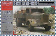 Schatton Modellbau 1/72 DB L4500 S Einheitsfahrerhaus German Heavy Truck # 72002