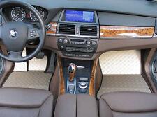 BMW X5 Typ E70/X70 Alu Fußmatten Set 5-tlg. DTE-S