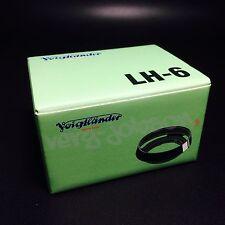 Voigtlander LH-6 Metal Lens Hood for Nokton Classic Lens35 /1.4 & 40 /1.4  New