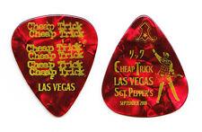 Cheap Trick Rick Nielsen Las Vegas Red Pearl Guitar Pick - 2009 Tour