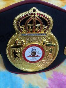 High Quality A+ New WBA Boxing Belt Adult Size Replica Adult Size