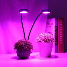 18W LED Pflanzenlicht Pflanzenleuchte Grow Light Dual Kopf für Pflanzen Wuchs