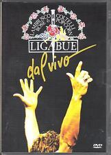 "LIGABUE - RARO DVD "" LAMBRUSCO COLTELLI ROSE E POPCORN DAL VIVO """